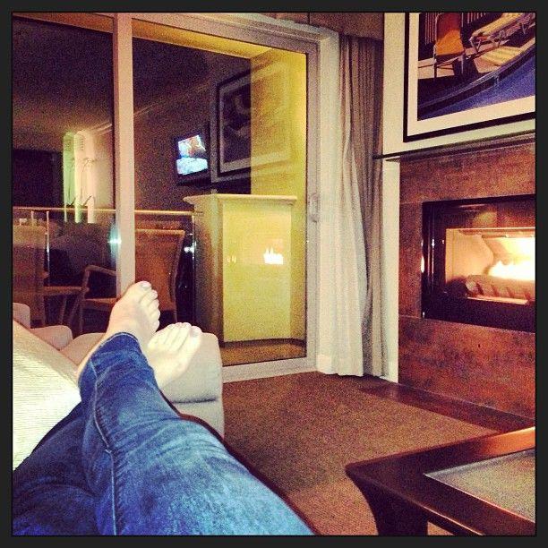 Kicking Back In A Guest Room At Malibu Beach Inn Malibubeachinn Fireplace Oceanview Balcony Feetup Relaxation Malib Explore