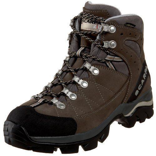 Scarpa Women's Bhutan GTX Hiking Boot Scarpa. $193.75. Vibram sole. Bi-directional ankle flex. Super shock-absorbing Vibram Hi-Trail Lite sole. Performance comfort Gore-Tex to keep your feet dry. Nubuck. Toe Rand for critical protection