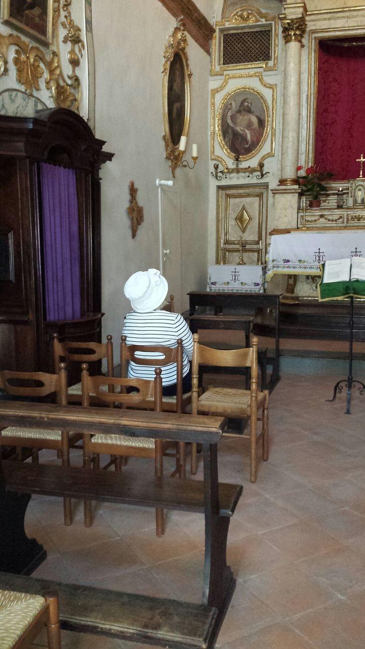 Jane Hattatt, Church of the Trinity, Gubbio, Italy [July 2016].