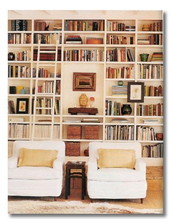 Lessons in Design :: Bookshelf Styling
