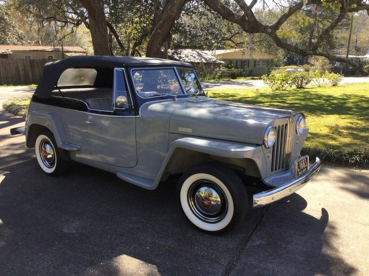 Best Willys Jeepster Images On Pinterest Trucks Jeep And