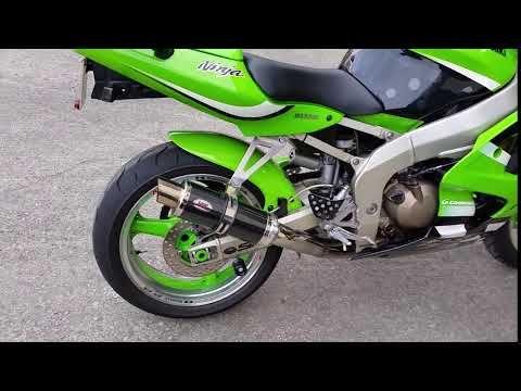 Kawasaki ZX6R Carbon GP Pro Exhaust