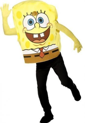 Disfraz  de Bob Esponja adulto.   Spongebob costume. www.leondisfraces.es