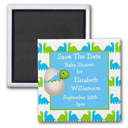 save the date baby shower magnet everything baby save the date