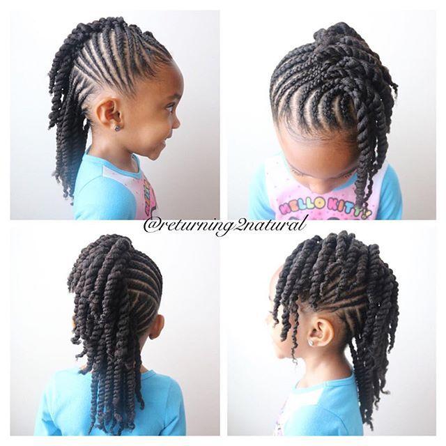 Braided Styles For Black Girls