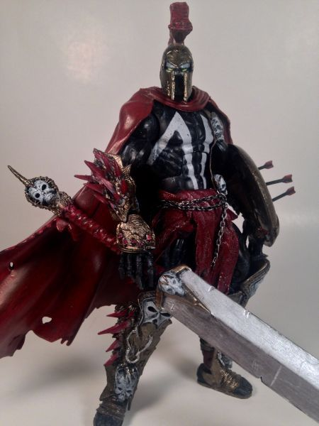 Spartan Spawn (Spawn) Custom Action Figure