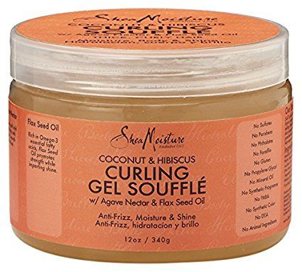 Shea Moisture Coconut and Hibiscus Curling Gel Souffle 326 ml