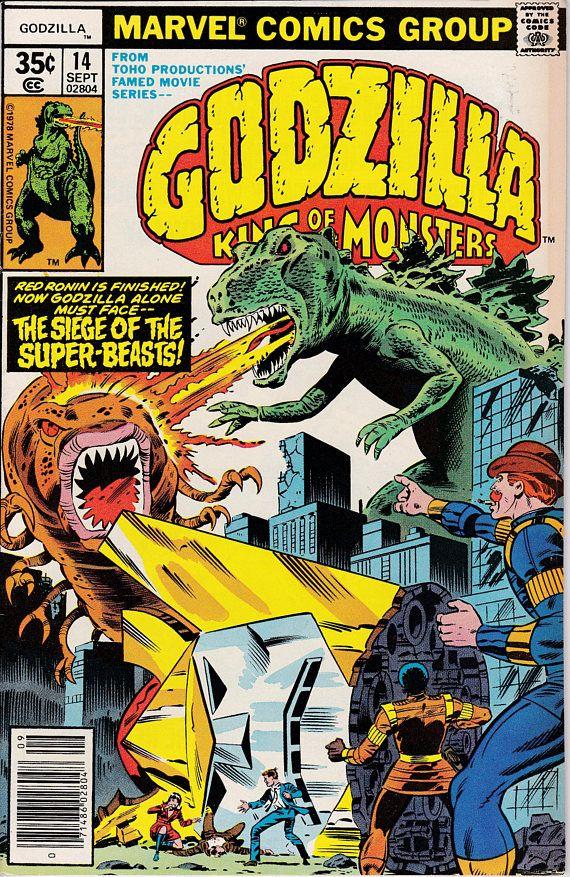 Godzilla 14 1977 Marvel  September 1978  Marvel Comics