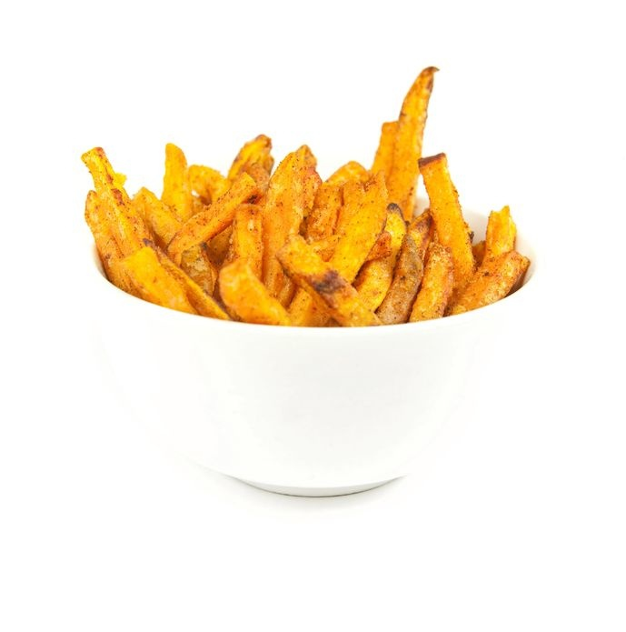 Spicy Sweet Potato Fries | Skinny Mom | Tips for Moms | Fitness | Food | Fashion | Family