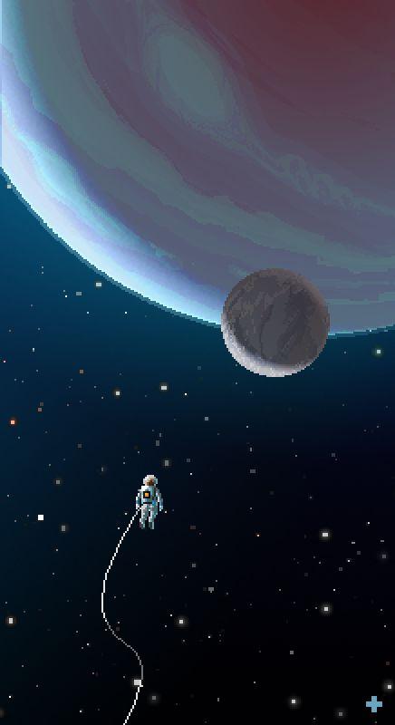 #space #astronaut #pixelart