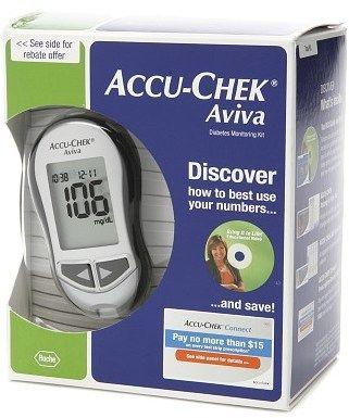 Accu-Chek Aviva Plus Diabetes Monitoring Kit #health #diabetes