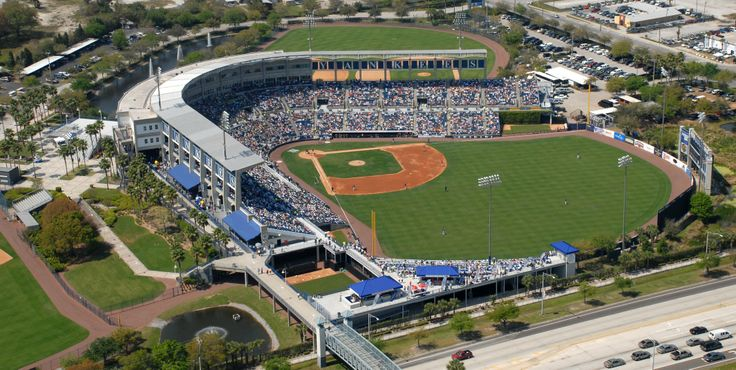 Aerial view of our great ballpark! Steinbrenner Field