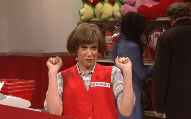 TARGET LADY!! SNL Kristen Wiig