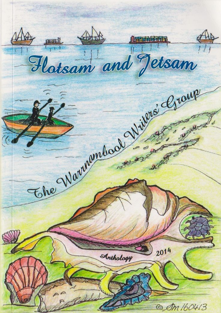 'Flotsam and Jetsam' is an anthology by the Warrnambool Writers' Group. My short story contribution is a little holiday romance.