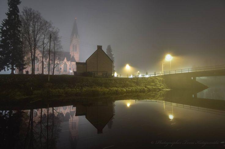Sumuinen kirkko. Kauhava, Suomi - photo Tomi Katajamäki