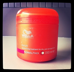 I was introduced to Wella hair care products by my friends who attend Ogle beauty school. This deep conditioner is amazing. Results=ultra soft/ultra healthy.