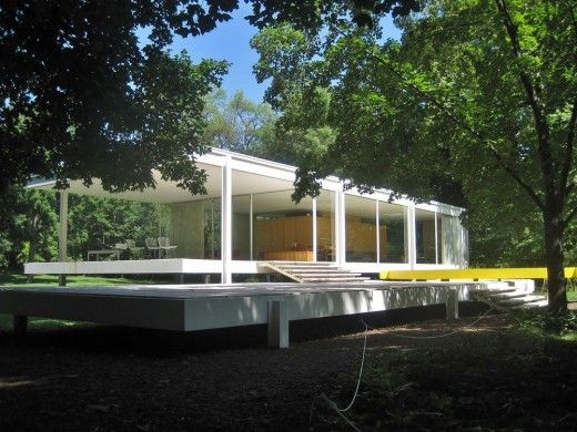 Famous Architecture Houses 52 best farnsworth house images on pinterest | farnsworth house