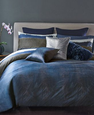 home diffusion king sham bedding collections bed bath donna karan sale moonscape collection