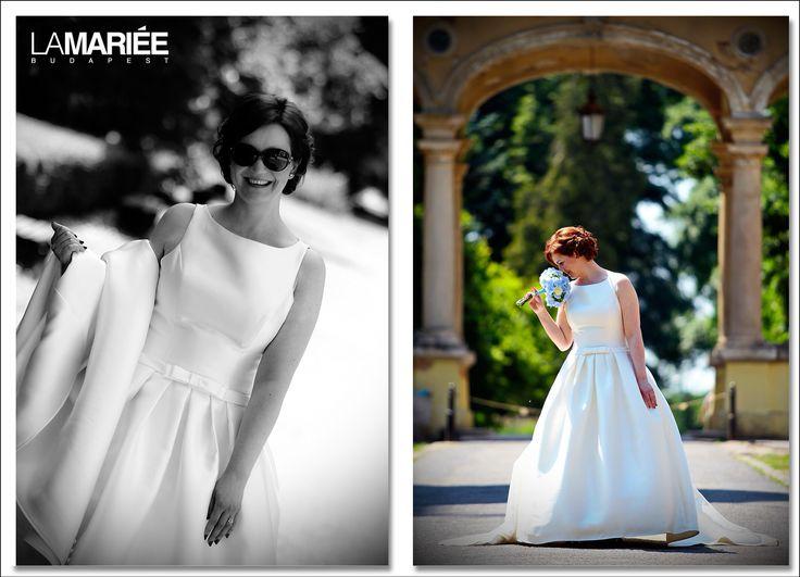Barcaza esküvői ruha - Pronovias kollekció - Zsuzsanna bride by La Mariée Budapest bridal http://lamariee.hu/eskuvoi-ruha/pronovias/barcaza