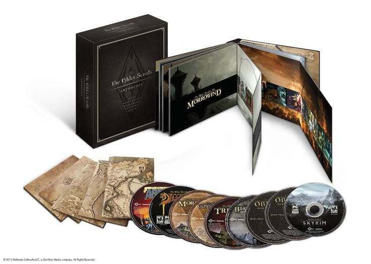 The Elder Scrolls: Anthology (Arena, Daggerfall, Morrowind, Oblivion, Skyrim and all Add-ons)