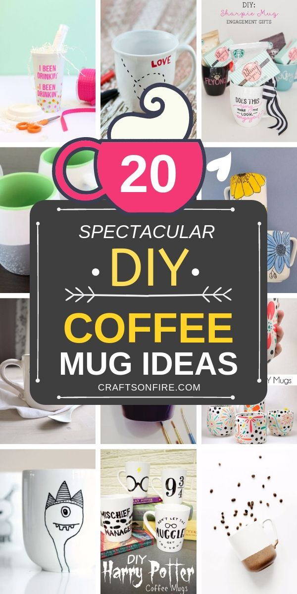 20 Best Diy Coffee Mugs To Decorate In Minutes Make Your Own Mug