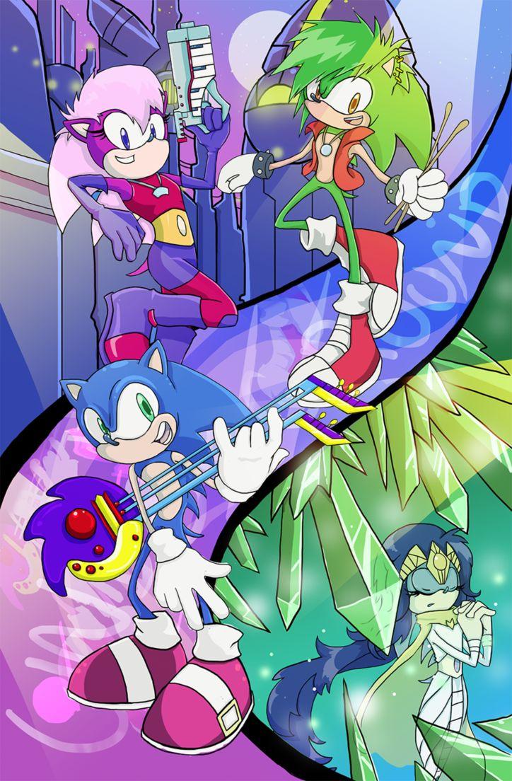 Sonic Underground. by CrimDa