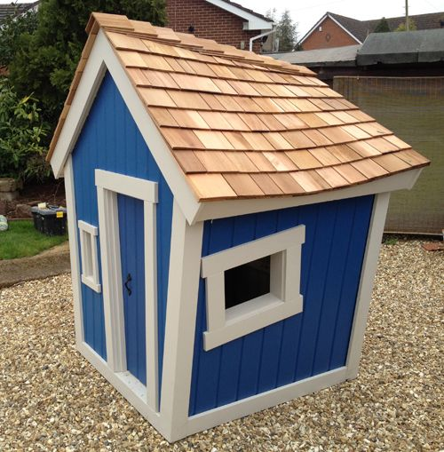 How to build a crooked playhouse plans woodworking for Playhouse diy plans