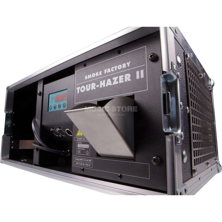 Smoke Factory Tour Hazer II-S inkl. Flightcase braun