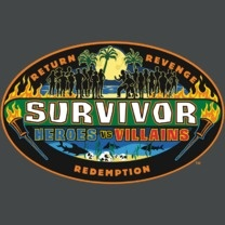 #survivor #popfunk #redemption  This design is available as a Tshirt here: $21.00 http://www.popfunk.com/mens-tees/cbs-primetime/survivor/survivor-heroes-vs-villains.html