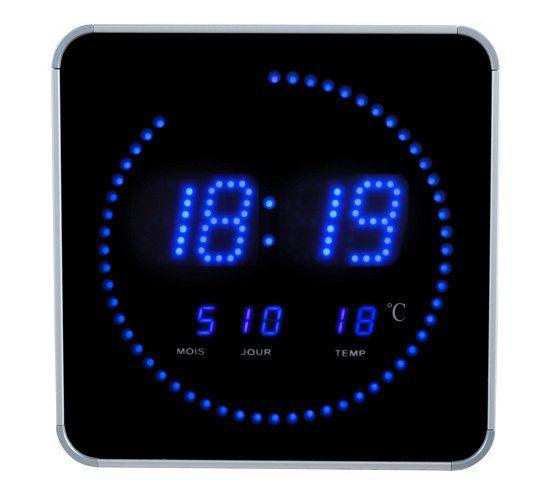 Les 25 meilleures id es de la cat gorie horloge led en - Horloge digitale murale led ...