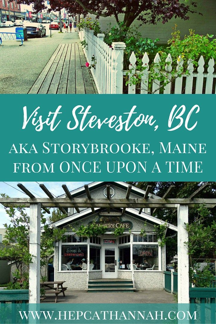 Visit Steveston BC aka Storybrooke Maine from #OUAT, Article by Hepcat Hannah…