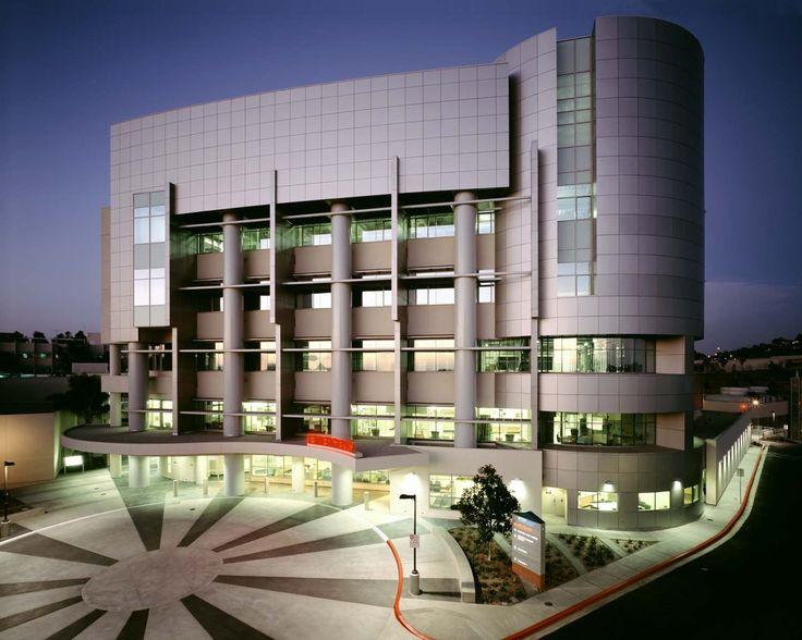 Modern hospital building designs