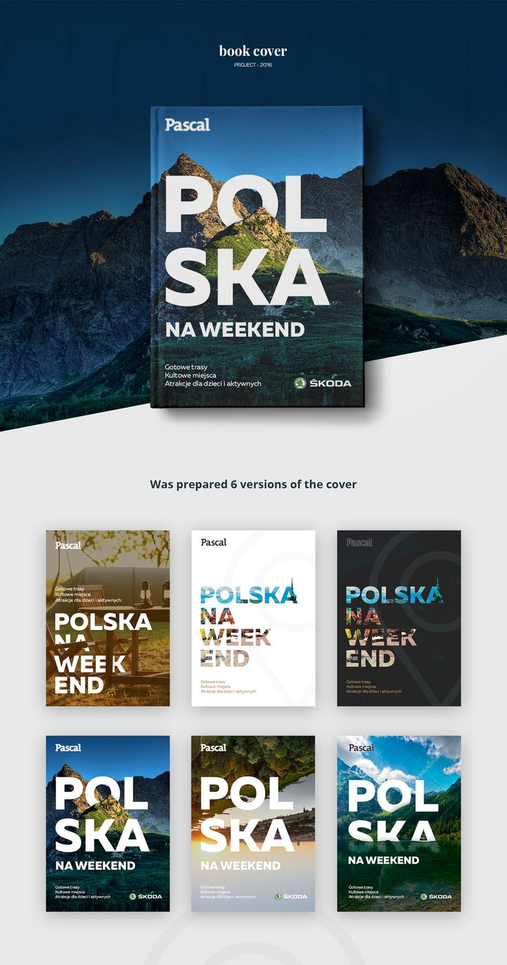 Design book covers online - Design A Book Cover For The Pascal Publishing In Poland