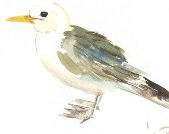 Mountain Bluebird Acuarela Original pintura 12 X 9 por ORIGINALONLY