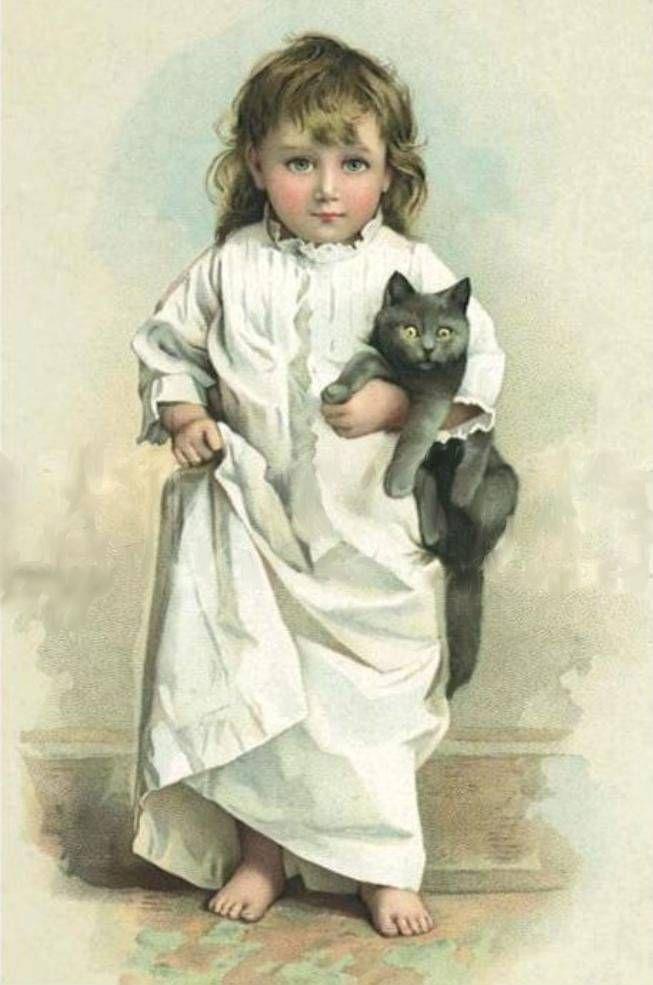 Иллюстрации Maud Humphrey- Мод Хамфри Богарт, (1868 - 1940), матери голливудского актера Хамфри Богарта
