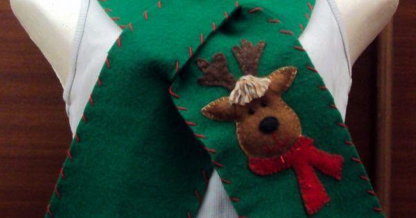 $25.000 COP Bufanda navideña hecha en fleese para niños y adultos | Bufandas | Pinterest | Cops