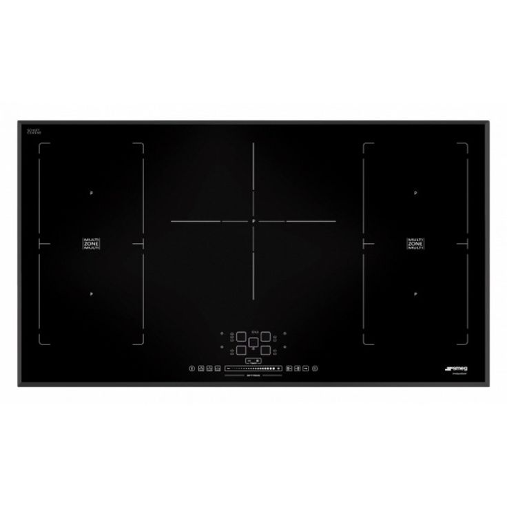 SMEG INDUCTION HOB SIM592B - 90 CM BEVELLED EDGES Smeg Induction hobs