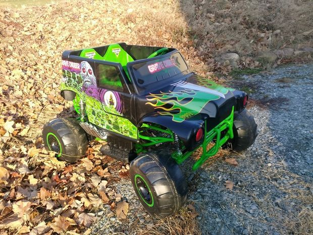 Speed Upgrade on the New Grave Digger Power Wheels Ride-on Toy: 7 Steps (with Pictures)
