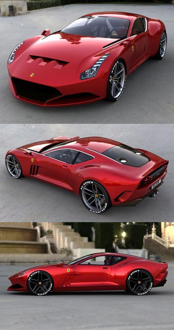 Super Cars Ferrari 612 GTO #cars #supercars #auto #ferrari #ferrari612gto #car #luxurycars | Cars | Ferrari 612, Vehicles, Cars