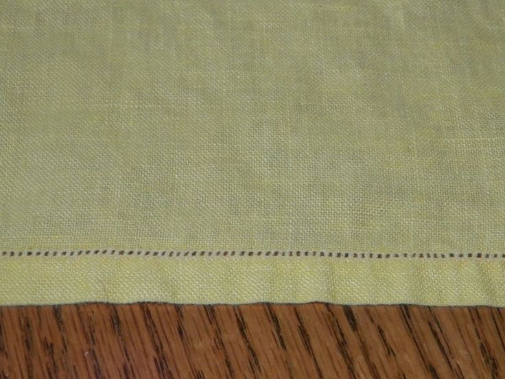 Vintage Yellow Tablecloth Square 32 x 32