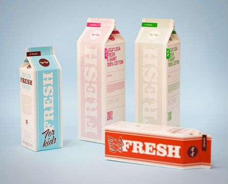 Typographic Package Design