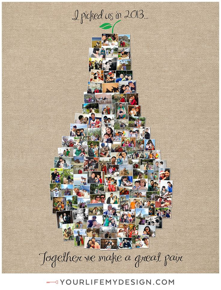 16x20 with 107 photos ❤ CollageDesign by http://yourlifemydesign.com/  #yourlifemydesign #photocollage #shapecollage #numbercollage #gift #giftideas #anniversary #homedecor #home #photography #collage #decor #decoration #shapes