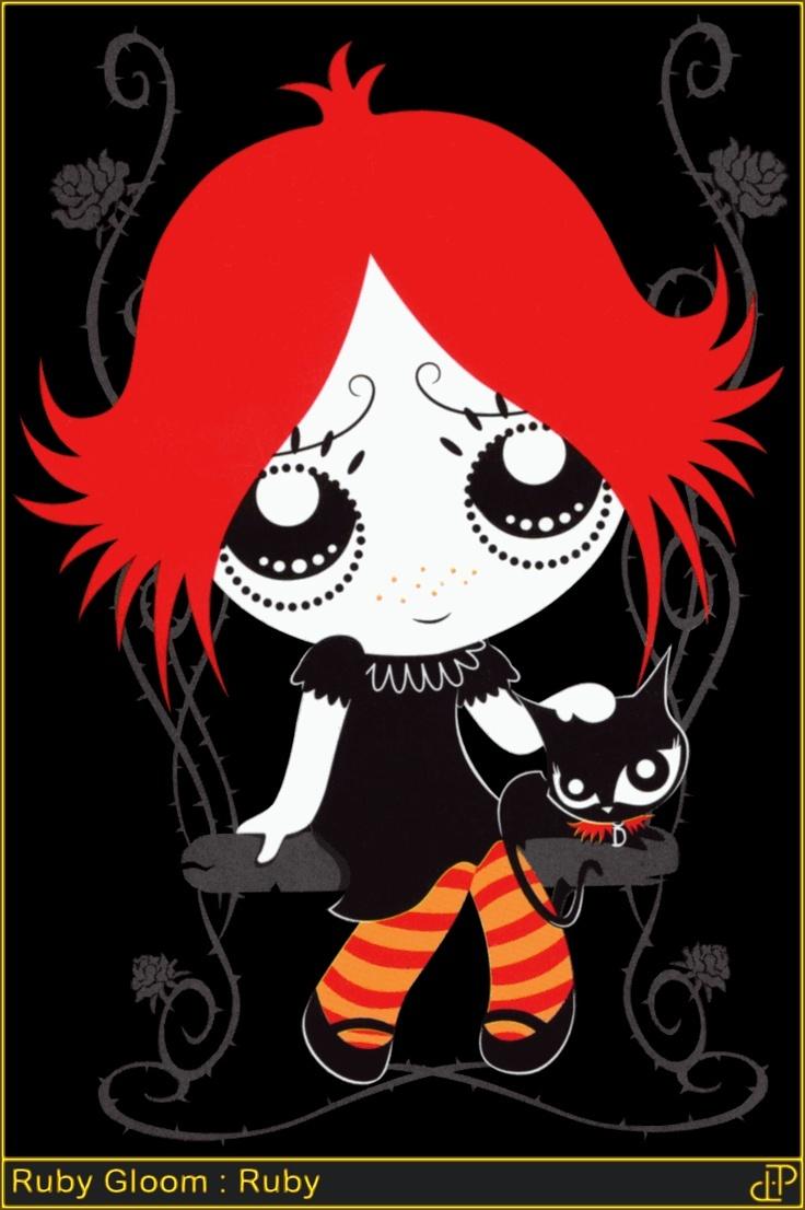 Ruby Gloom and Doom Kitty
