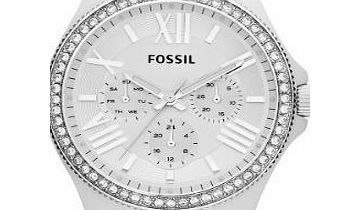 Fossil Womens Quartz Watch Retro Traveler AM4494 with Plastic Strap Target Audience : Lady - Style : Fashion - Item Shape : Round - Colors : White - Materials : Acetate - Movement Type : Quartz - Water Resistance : 10 atm - Glass : Minera (Barcode EAN = 4051432945618) http://www.comparestoreprices.co.uk/ladies-watches/fossil-womens-quartz-watch-retro-traveler-am4494-with-plastic-strap.asp