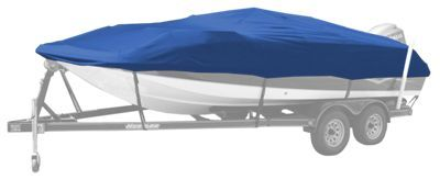 Bass Pro Shops Select Fit Hurricane Boat Covers for Deck Boats - Blue - 21'6'' to 22'5''