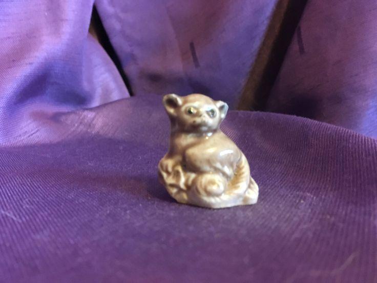 Red Rose Tea Wade England Monkey Marmoset Whimsical - At Everything Vintage Shipping's on Us! by EverythingVintageBC on Etsy