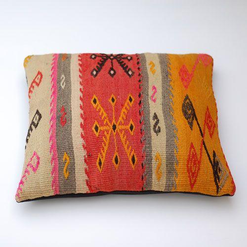Antik Kelim kudde - Kelimboots, ikat kuddar, hamam handdukar - urban ethnic fashion & interior