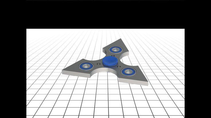 Fidget spinner 3D – Free STL