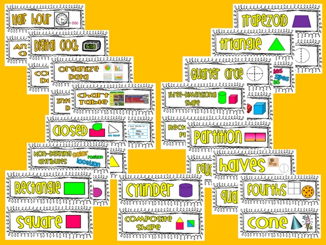 Ginger Snaps: 1st Grade Common Core Math Word Cards!!!!Grade Math, Class Ideas, Words Cards, Grade Common, Math Words, Common Core Math, Common Cores Math, 1St Grades, Gingers Snap