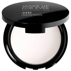 Poudre HD de Make Up For Ever fixe le maquillage et matifie délicatement pour un fini transparent naturel et lumineux - 16.90e (format voyage)